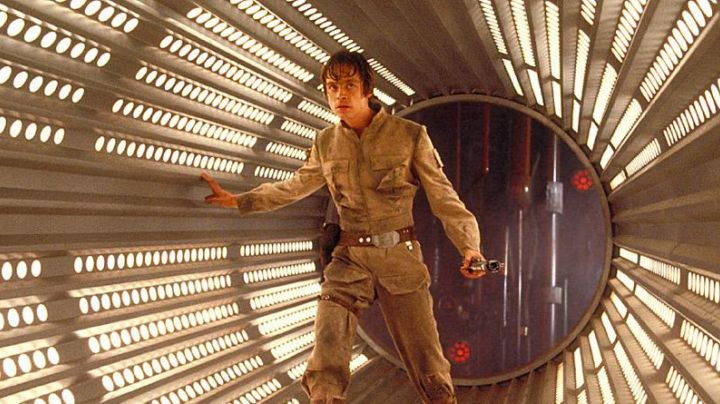 The jacket Luke Skywalker (Mark Hamill) on Bespin in Star Wars V : The empire against attack - Movie Outfits and Products