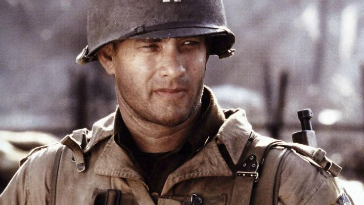 The jacket M41 worn by Captain Miller (Tom Hanks) in saving private Ryan Movie