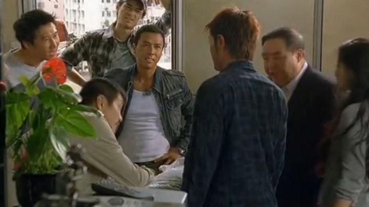The jacket jeans of the Detective Ma Jun (Donnie Yen) in Flashpoint