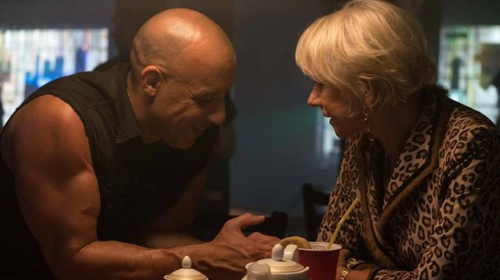Fashion Trends 2021: The jacket leopard of Magdalene Shaw (Helen Mirren) in Fast and Furious 8