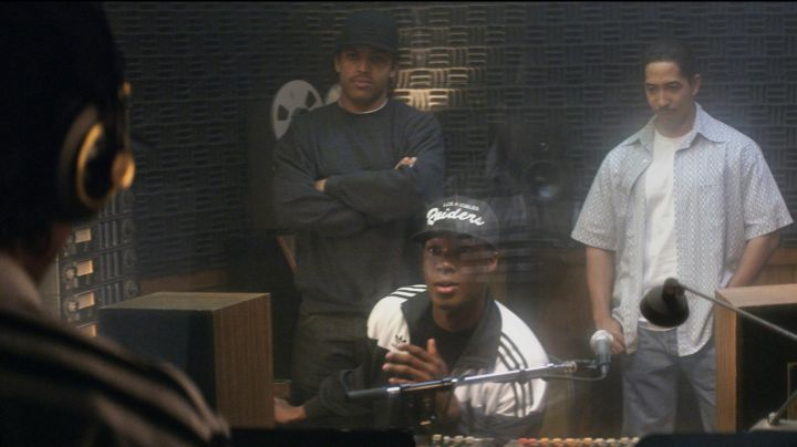 Fashion Trends 2021: The jacket of Adidas jogging Corey Hawkins in Straight Outta Compton