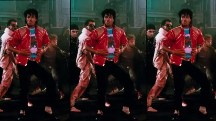 Fashion Trends 2021: The jacket of Michael Jackson on the title Beat It in Moonwalker (Retrospective)