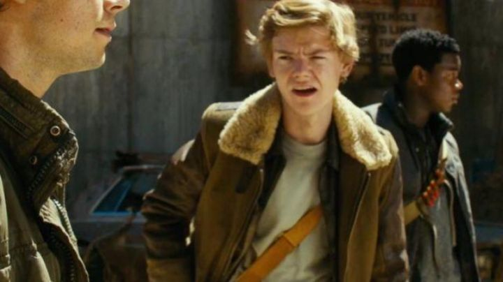 The jacket of Newt (Thomas Brodie) in The labyrinth : the cure mortal Movie