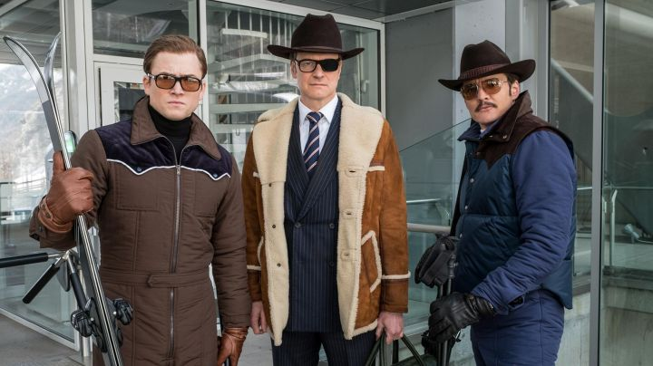 Fashion Trends 2021: The jacket without handle Rocky Mountain agent Whiskey (Pedro Pascal) in Kingsman : The golden circle