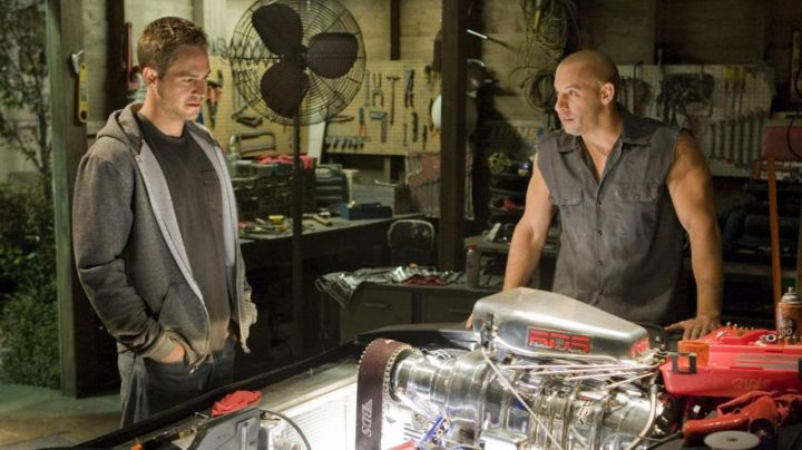 The jacket without handle mole of Dominic Torreto (Vin Diesel) in Fast and Furious 4 - Movie Outfits and Products