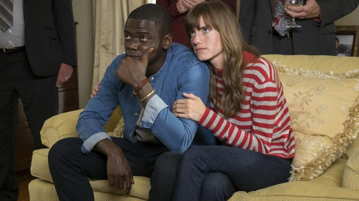 "The jean Industry Standard Rose Armitage (Allison Williams) in "" Get Out - Movie Outfits and Products"