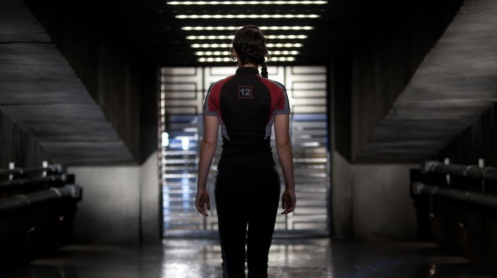 The jersey will be training on District 12's Katniss Everdeen (Jennifer Lawrence) in Hunger Games - Movie Outfits and Products