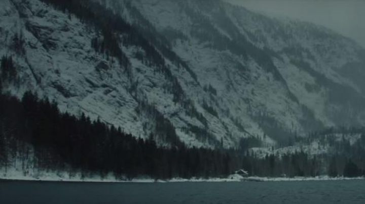 The lake Altaussee in Austria in Spectrum - Movie Outfits and Products