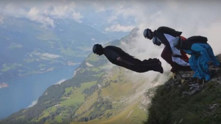 The lake of Walenstadt in Switzerland in Point break 2017 - Movie Outfits and Products