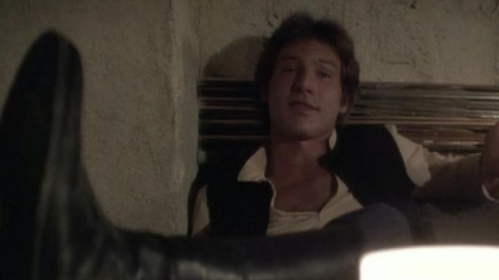 Fashion Trends 2021: The leather boots of Han Solo (Harrison Ford) in Star Wars IV : A new hope