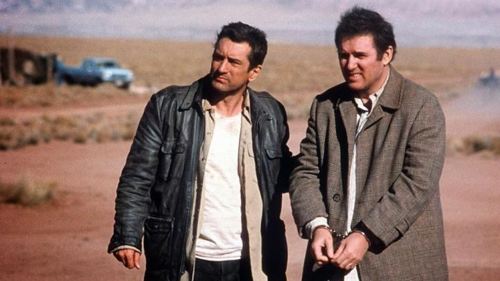 """The leather jacket John Wesley Walsh / Jack (Robert De Niro) in """" Midnight Run - Movie Outfits and Products"""