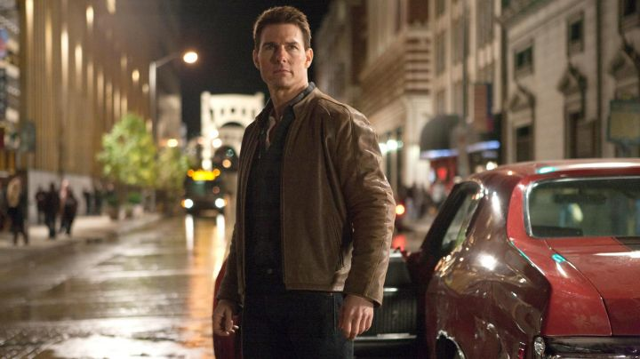 Fashion Trends 2021: The leather jacket brown of Jack Reacher (Tom Cruise) in Jack Reacher