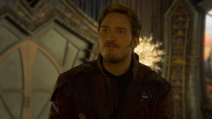 Fashion Trends 2021: The leather jacket of Star Lord / Peter Quill (Chris Pratt) in Guardians of the Galaxy Vol.2