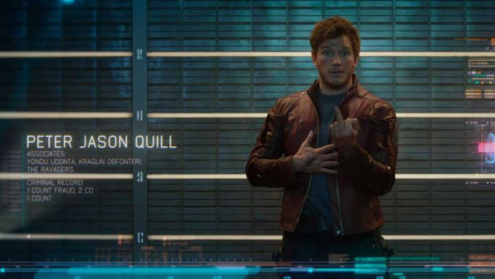 Fashion Trends 2021: The leather jacket of Star Lord / Peter Quill (Chris Pratt) in Guardians of the Galaxy