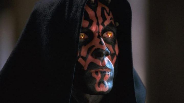 Fashion Trends 2021: The lenses of Darth Maul in Star Wars I : The phantom menace
