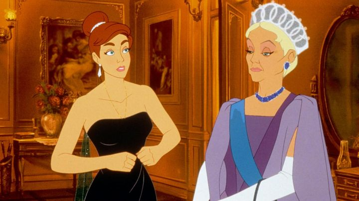 The long dress blue night Anastasia in Anastasia - Movie Outfits and Products