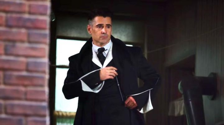 The magic wand of Percival Graves (Colin Farrell) in fantastic Animals movie