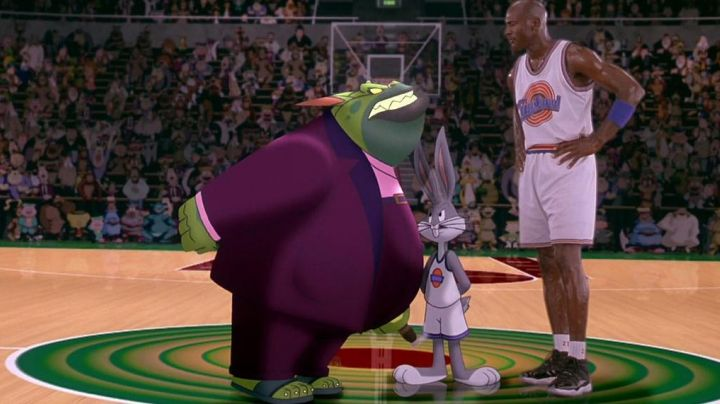 The magnificent Air Jordan XI Michael Jordan in Space Jam - Movie Outfits and Products