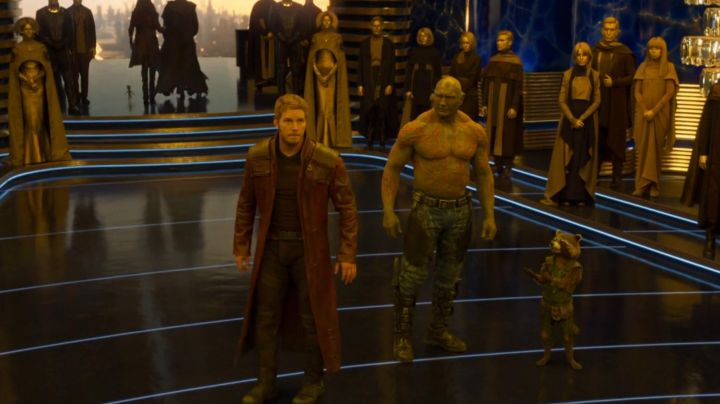 The mantle of Star-Lord / Peter Quill (Chris Pratt) in guardians of the Galaxy Vol.2 - Movie Outfits and Products