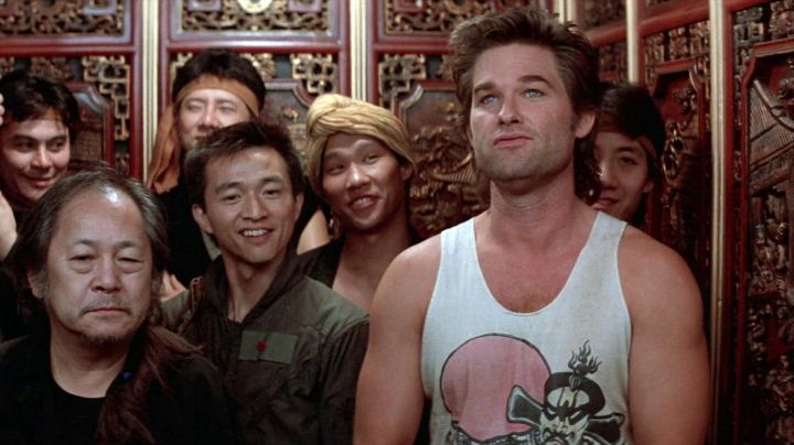 Fashion Trends 2021: The marcel of Kurt Russell in The adventures of Jack Burton in the claws of the Mandarin