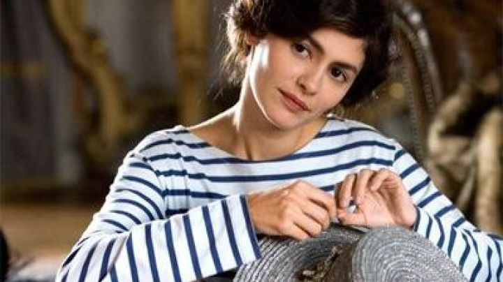 The marinière of Coco Chanel (Audrey Tautou) in Coco Before Chanel