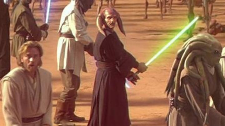 The mask Saesee Tiin in Star Wars I : The phantom menace - Movie Outfits and Products