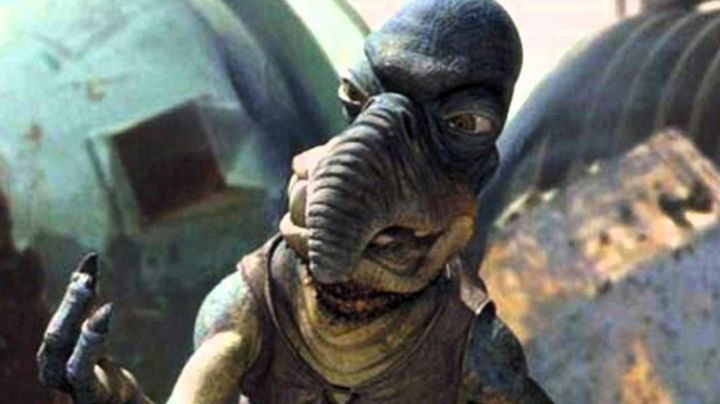 Fashion Trends 2021: The mask Watoo in Star Wars I : The phantom menace