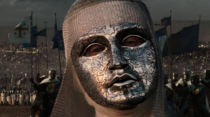 The mask of Baldwin IV / Baldwin IV (Edward Norton) in Kingdom of Heaven - Movie Outfits and Products