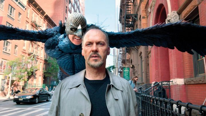 The mask of Birdman (Michael Keaton) in Birdman - Movie Outfits and Products