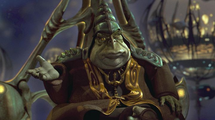Fashion Trends 2021: The mask of Boss Nass in Star Wars I : The phantom menace