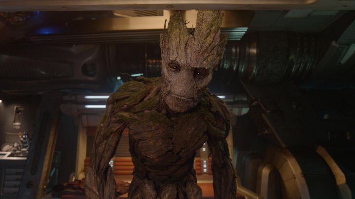 The mask of Groot in the movie guardians of the galaxy vol 1 - Movie Outfits and Products