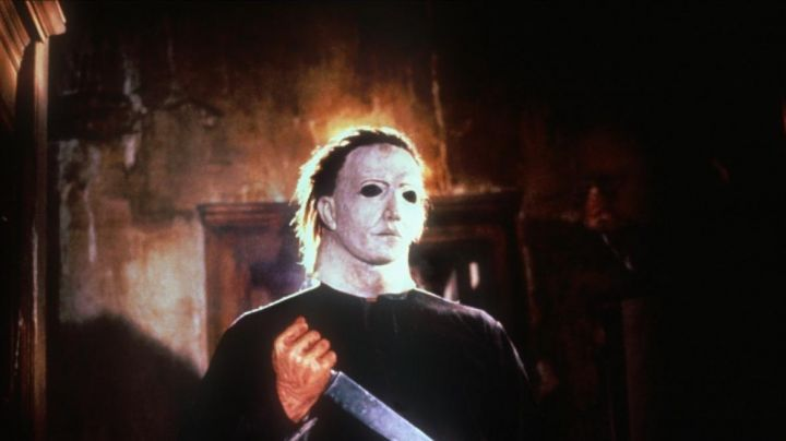 The mask of Michael Myers in Halloween : the night of the masks - Movie Outfits and Products