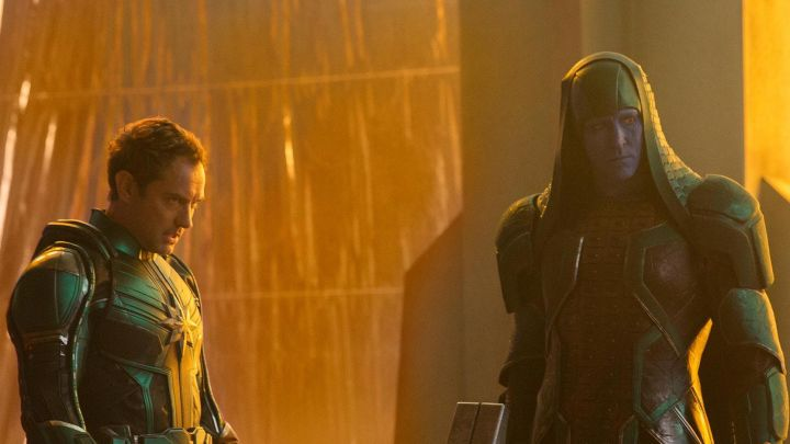 The mask of Ronan the Accuser (Lee Pace) in Captain Marvel Movie