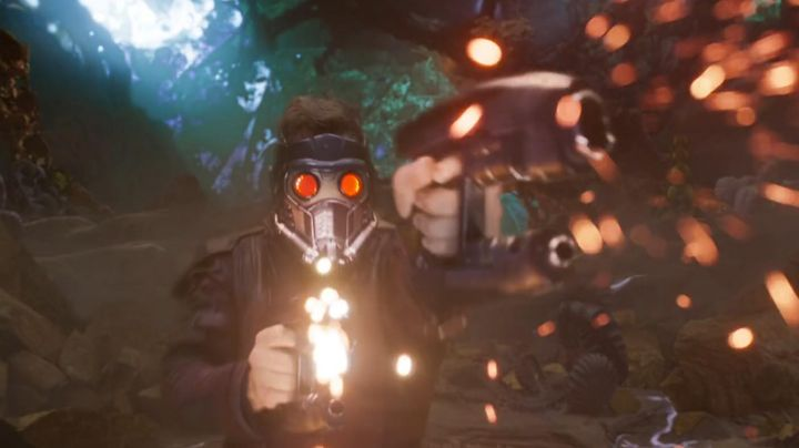Fashion Trends 2021: The mask of Star-Lord (Chris Pratt) in guardians of the galaxy Vol.2