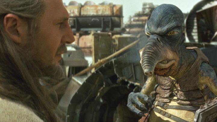 The mask of Watto in Star Wars I : The phantom menace - Movie Outfits and Products
