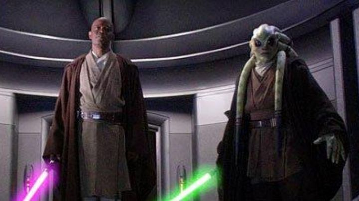 The Mask Of The Jedi Knight Kit Fisto In Star Wars Ii Attack Of The Clones Movie
