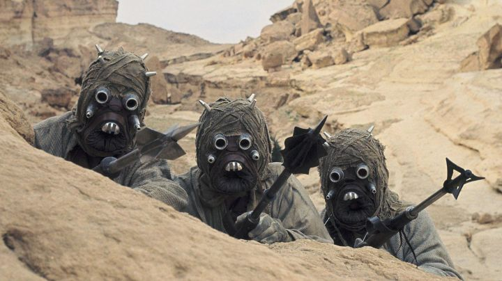 Fashion Trends 2021: The mask of the man of the sands (Tusken in Star Wars IV : A new hope