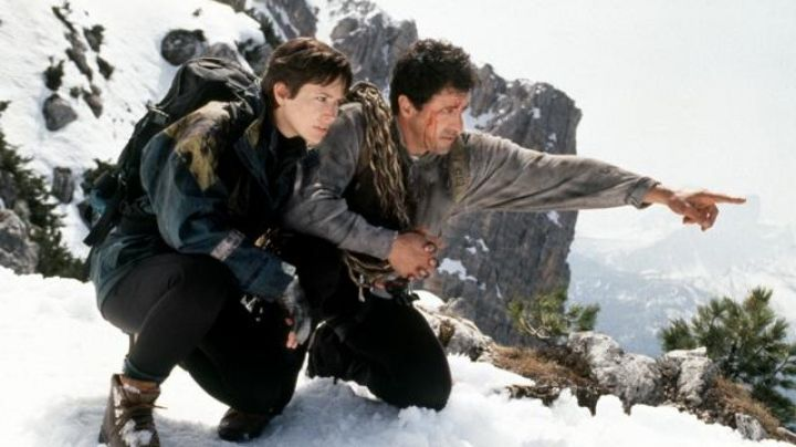 The massif in the Dolomites, climbed by Gabe Walker (Sylvester Stallone) in Cliffhanger - Movie Outfits and Products
