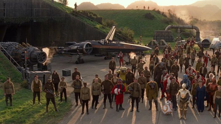 Fashion Trends 2021: The military base in Greenham Common in England which is the setting for the rebel base to Qar in Star Wars VII : The Awakening of the Force