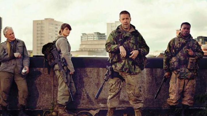 The military rucksack from Miss Justineau (Gemma Arterton) in The Last Girl - Movie Outfits and Products