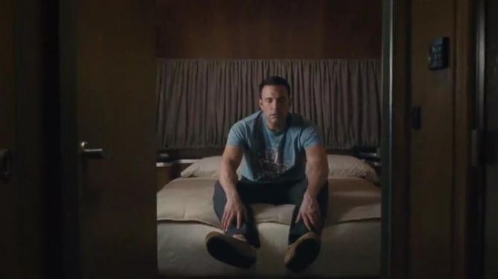 The moccasins of Christian Wolff (Ben Affleck) in Mr Wolff movie