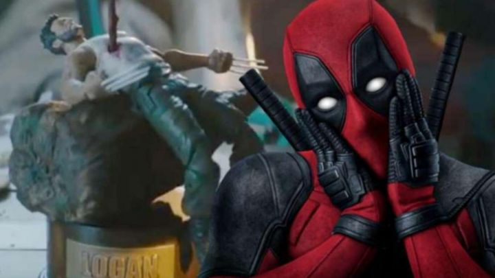 The music box and Logan fly by Deadpool (Ryan Reynolds) in a promo video for Deadpool 2 movie