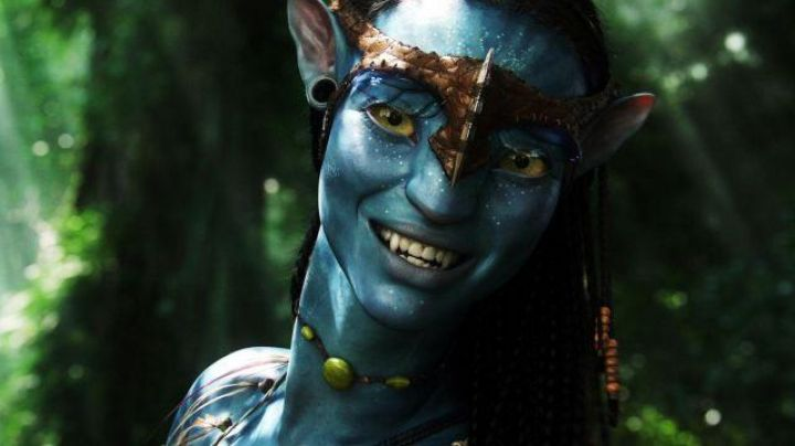 The necklace Neytiri (Zoe Saldana) in Avatar - Movie Outfits and Products