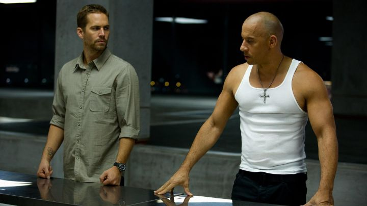 Fashion Trends 2021: The necklace + cross gothic Vin Diesel in Fast and Furious 6