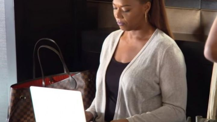 The neverfull bag of Louis Vuitton Sasha Franklin (Queen Latifah) in Girls trip - Movie Outfits and Products