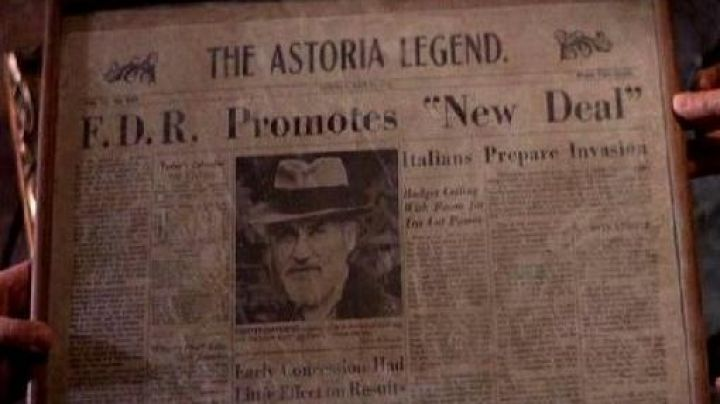 The newspaper, The Astoria Legend of Chester Copperpot in The Goonies - Movie Outfits and Products