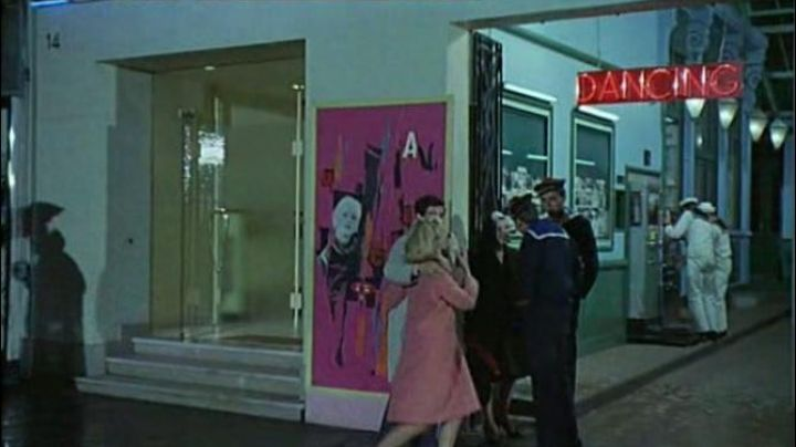 The old dance hall at 14 Rue Gambetta, Cherbourg-Octeville in The Umbrellas of Cherbourg - Movie Outfits and Products