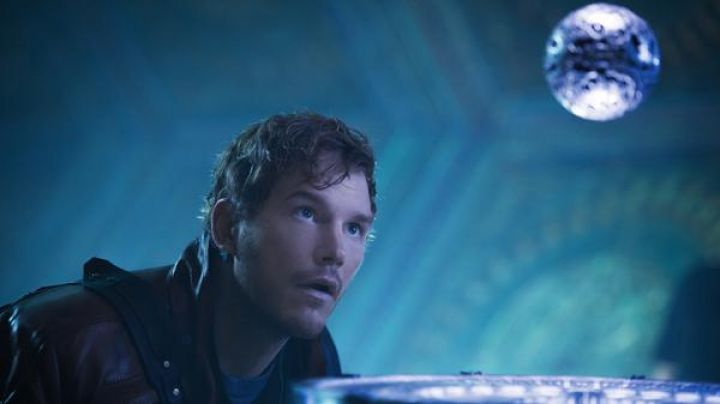 The orb of infinity and its stone bright in The Guardians of the Galaxy - Movie Outfits and Products