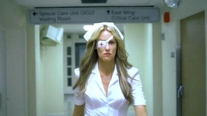 The outfit as a nurse