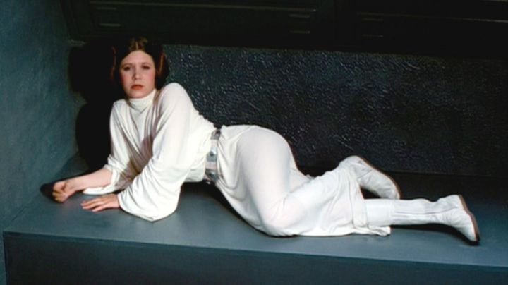 The Outfit Of Princess Leia In Star Wars Movie